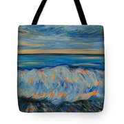 Big Wave After Storm Tote Bag