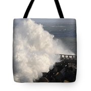 Big Wave Tote Bag