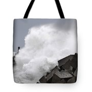 Big Waves II Tote Bag