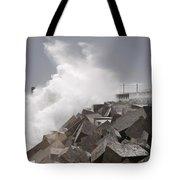 Big Waves IIi Tote Bag