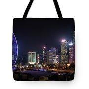 Big Wheel In Hong Kong Central Tote Bag