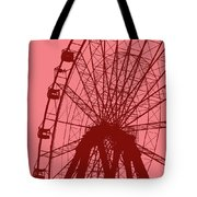 Big Wheel Red Tote Bag