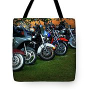 Big Wheels At Laconia Tote Bag