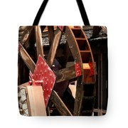 Big Wheels Keep On Turning Tote Bag