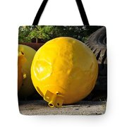 Big Yellow Balls Tote Bag