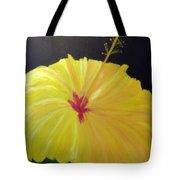 Big Yellow Hibiscus Tote Bag