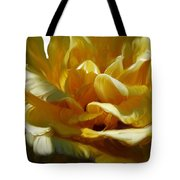 Big Yellow Rose Tote Bag