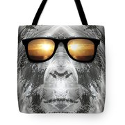 Bigfoot In Shades Tote Bag