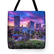Biggest Little Sunset Tote Bag