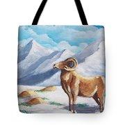Bighorn Kam Tote Bag