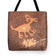 Bighorn Petroglyph Tote Bag