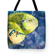 Bignose Unicornfish Tote Bag