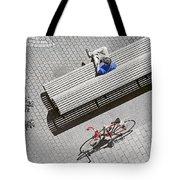 Bike Break Tote Bag