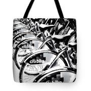 Bike Fleet Tote Bag