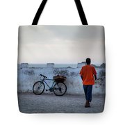 Bike In Essaouira Tote Bag