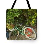 Bike In Maupiti Tote Bag