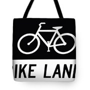 Bike Lane Tote Bag