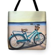 Bike Path Tote Bag
