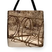 Bike Rack Tote Bag