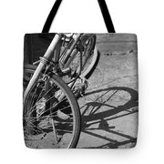 Bike Shadow Tote Bag