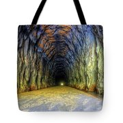Bike Tunnel Tote Bag