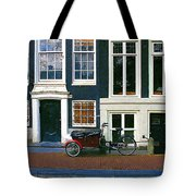 Bike With The Red Fenders Tote Bag