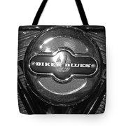 Biker Blues Tote Bag
