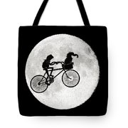 Biker Of The Moon Tote Bag