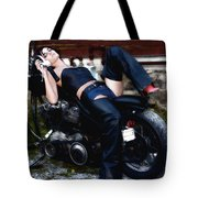 Bikes And Babes Tote Bag
