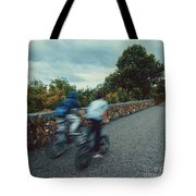 Bikes On The Deise Greenway 2 Tote Bag