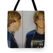 Bill Gates Mug Shot Horizontal Color Tote Bag