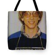 Bill Gates Mug Shot Vertical Color Tote Bag