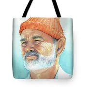 Bill Murray Steve Zissou Life Aquatic Tote Bag
