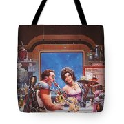 Bill The Galactic Hero Keith Parkinson Tote Bag