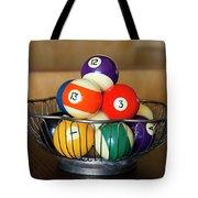 Billiard Balls Tote Bag