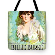 Billie Burke In The Misleading Widow 1919 Tote Bag