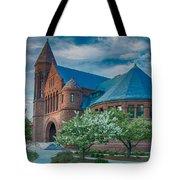 Billings Library At Uvm Tote Bag