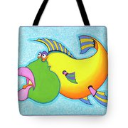 Billy Bass Tote Bag