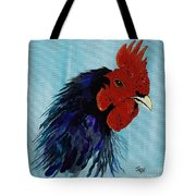 Billy Boy The Rooster Tote Bag