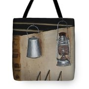 Billy Can And Oil Lamp Tote Bag