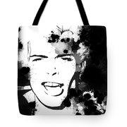 Billy Idol Splatter Tote Bag