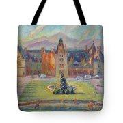 Biltmore Christmas Morning Tote Bag