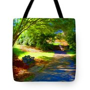 Biltmore Mansion Walking Path Tote Bag