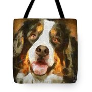 Bimbo - Bernese Mountain Dog Tote Bag