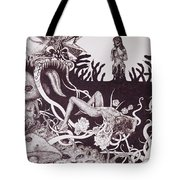 Binah Qlippoth Tote Bag