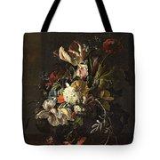 Bindweed And Chrysanthemums Tote Bag