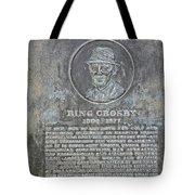 Bing Crosby Pebble Beach I Tote Bag