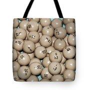 Bingo Balls Tote Bag