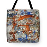 Biography Of A Wall 17 Tote Bag