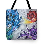 Biomech Flash Tote Bag
